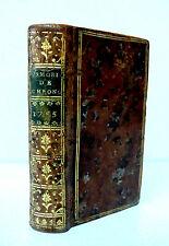 MEMORIAL DE CHRONOLOGIE GENEALOGIQUE et HISTORIQUE- Ed DE BALLARD 1755
