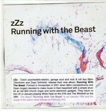(BK731) ZZZ, Running With The Beast - DJ CD