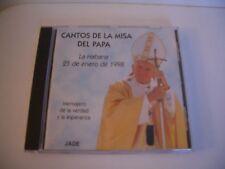 CANTOS DE LA MISA DEL PAPA .CD -SCHOLA CANTORUM CORALINA DIRIGE PAR ALINA ORRACA