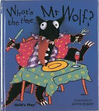 Finger Puppet Bks.: What's the Time, Mr. Wolf? (2003, Hardcover)