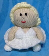 KNITTING PATTERN - Marilyn Monroe inspired chocolate orange cover or 15 cms toy