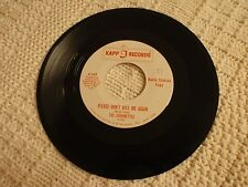 THE CHARMETTES  PLEASE DON'T KISS ME AGAIN/WHAT IS A TEAR  KAPP 547 PROMO