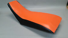 HONDA TRX400EX Seat Cover 1999-2007  in 2-tone ORANGE & BLACK or 25 COLORS