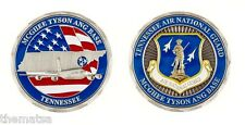 """AIR FORCE MCGHEE TYSON ANG BASE  1.75"""" CHALLENGE COIN"""