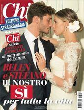 CHI 40-2013 BELEN STEFANO Matrimonio Sposi Edizione Straordinaria