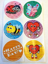 100  Happy Heart Valentine's Day  Cute Bugs Party Favors Teacher Supply Insects