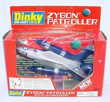 "Dinky Toys ""SPACE DUEL"" ZYGON PATROLLER FIGHTER PLANE #363 New! MIB`79 TOP RARE!"