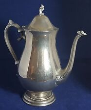 Beautiful Vintage  Silver Plated Coffee /  Tea pot by Grenadier (Height - 27 cm)
