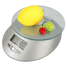 Glass Platform Battery Operated Digital Food Scale