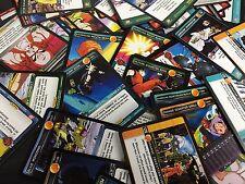 DRAGON BALL Z DBZ PANINI CCG : 100 CARD LOT COMMON, UNCOMMON & RARES