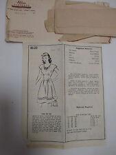Mail Order vtg Alden House Womens size 12 Dress pattern complete