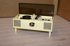 Vintage Unitoys Transistor Radio Plastic Console Stereo Doll Size AS IS
