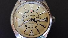 "Eterna KonTiki ""Date"" Automatic four hands- Swiss Made. 1592.41.154.145"