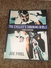 JOE FRIEL. THE CYCLIST'S TRAINING BIBLE. THIRD EDITION