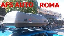 BOX AUTO PORTATUTTO BAULE CARGO 4 300 LT+BARRE ALLUMINIO CITROEN BERLINGO 2013