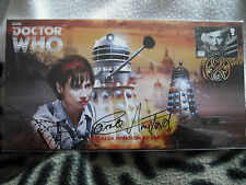 Dr who the dalek   invasion of earth   stamp cover ,   signed by Carole Ann Ford