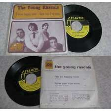 THE YOUNG RASCALS - I'm So Happy Now Rare French PS Garage Pop US 67