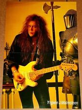 YNGWIE MALMSTEEN FENDER STRATOCASTER TRIBUTE POSTER