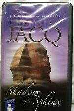 Shadow of the Sphinx by Christian Jacq: Unabridged Cassette Audiobook (W3)