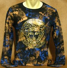 New Witg Tags MEN'S VERSACE Long Slv T-SHIRT Size M