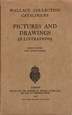 Pictures and drawings (illustrations). Wallace collection catalogues - ST251