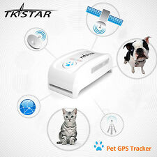 TKSTAR GPS Tracker Locator GSM GPRS Tracking Collar System for Pets Dog Cat New