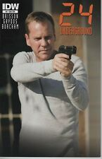 24 Underground #4 FOX TV show series photo variant cover comic book Jack Bauer