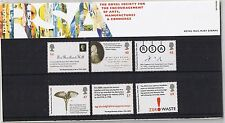 GB Presentation Pack 362 RSA Royal Society of Arts 2004 10% OFF FOR ANY 5+