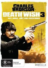 Death Wish 3 (PAL Format DVD Region 4)