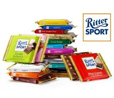 Ritter Sport chocolate -  four (4) panels - original german brand