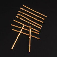 25x P100-4S/R100-4S Spring Test Probes Pogo Pin Receptacle 17.5mm/3A Pins Tool