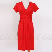 Maternity Evening Dress Pregnant Office Maternity Short Sleeve Casual Dress Sexy