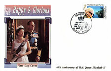 DOMINICA 13 MARCH 1992 HAPPY AND GLORIOUS $1 FIRST DAY COVER SHS