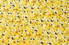1000 PCS Jigsaw Puzzle Doge Magic Puzzle Game Kids Early Educational Toy Gift