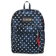 "New Trans By Jansport Super Max Multi Stars Backpack 15"" Laptop Sleeve 17""HX13""W"