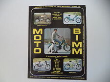 advertising Pubblicità 1971 MOTO BIMM CROSS P/4 50/BILLO/EZ M/ P/3 T