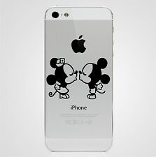 Minnie Mouse And Mickey Mouse Kissing iPhone 5 Sticker Decal Apple iPhone Decal
