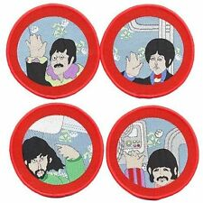 THE BEATLES - Four Cartoon Porthole - Rock N' Roll Band Iron - On Patches