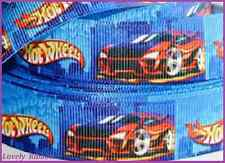 1 m, HOT WHEELS, 7/8, Ribbon, Cars, Grosgrain, Hair, Bow, BUY 5m Of Any, GET 6m