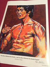 Bruce Lee  Limited Edition Art Print By Patrick J Killian