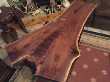 "Black Walnut ""Y"" Cut / XL Slab Natural Edge / DIY  Live Edge Lumber 69 Y J&R"