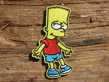 ECUSSON PATCH THERMOCOLLANT aufnaher toppa BART SIMPSON homer / 5.5cm X 9.5cm