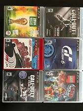 ps3 games (grand Turismo 6, Need For Speed Most Wanted, 2014 FIFA World Cup...
