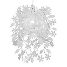 Modern White Leaf & Flower Garland Ceiling Pendant Light Lamp Shade Chandelier