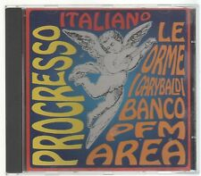 PROGRESSO ITALIANO LE ORME I GARYBALDI BANCO PFM AREA CD