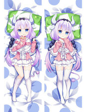 Hot Anime Dakimakura Kobayashi-san Chi no Maid Dragon Kanna Kamui Pillow Cover