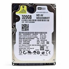 "Western Digital 320GB WD3200BVVT 2.5"" Sata Laptop Hard Disc Drive HDD Warranty"