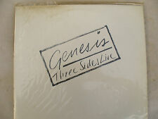 GENESIS double lp THREE SIDES LIVE ge 2002