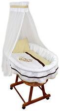 Baby Stubenwagen Janina Babykorb Bettwäsche Applikation EU-Produkt Design 1M