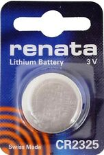 CR2325 RENATA WATCH BATTERIES 2325 (1 piece) New packaging Authorized Seller